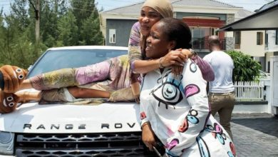 Photo of Wonderful! Iyabo Ojo Gets Surprise Car Gift From Goddaughter